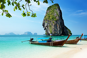Railey Beach in Thailand